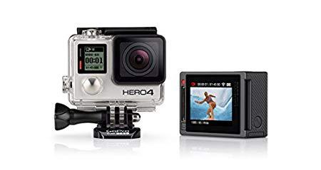GoPro HERO4 Silver Edition Motorsport - Videocámara deportiva (12 Mp, Wi-Fi, Bluetooth, sumergible hasta 40 m), (vesión alemana)