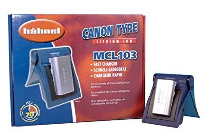 Hähnel MCL 103 - Cargador para baterías video Canon