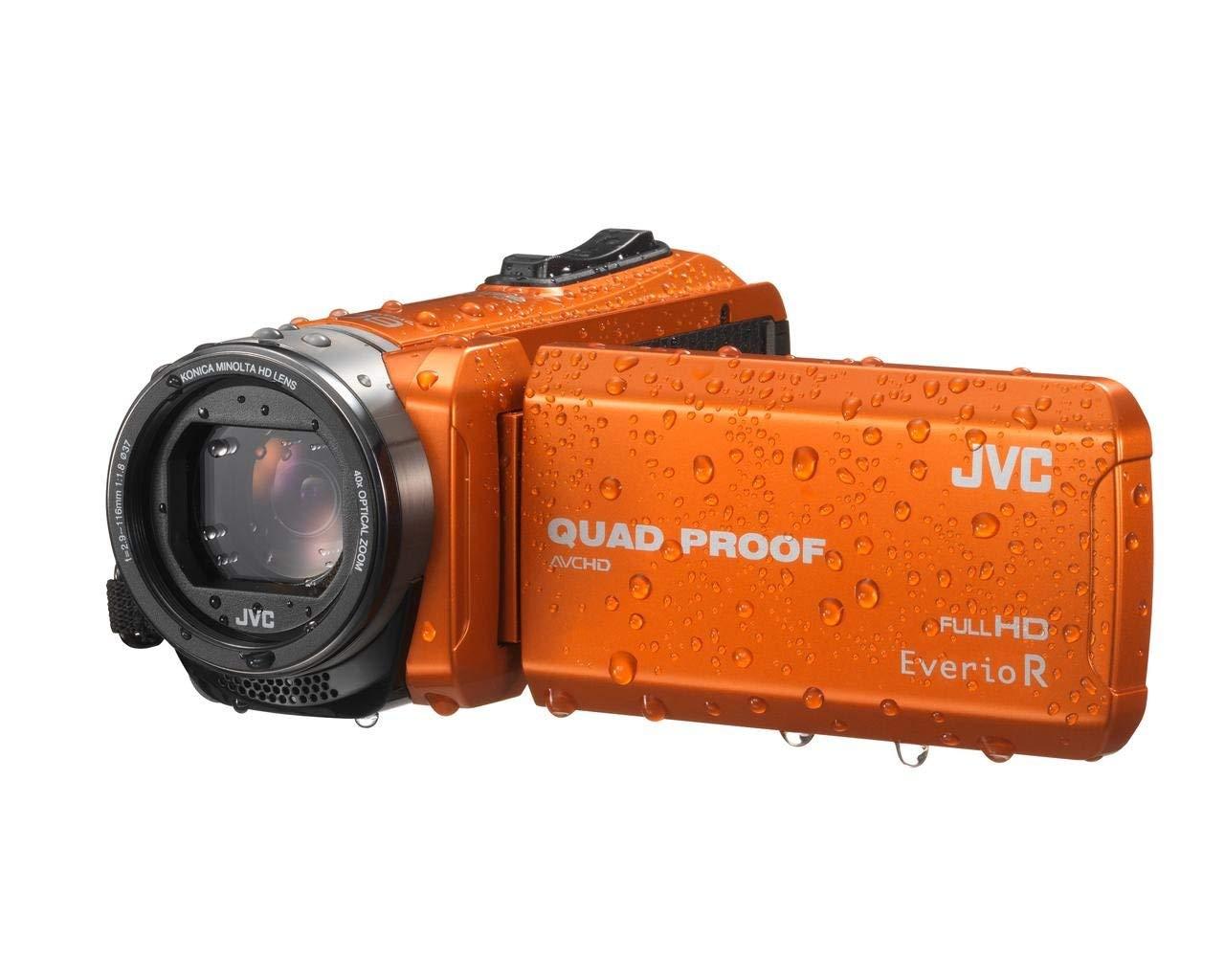 "JVC GZ-R415DEU - Videocámara (CMOS, 25,4/5,8 mm (1/5.8""), 10 MP, 40x, 200x, 1,8-6,3 mm)"