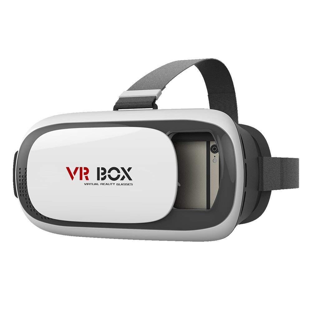"""Montado en la Cabeza Google Cartón Realidad Virtual 3D Glasses Auriculares VR Versión 2.0 3D VR Vídeo Juego Película Gafas con Diadema para el iPhone 6S 6 Samsung S6 Nota 5 HTC / All 3.5 ~ 6.0 """" Teléfonos Inteligentes"""