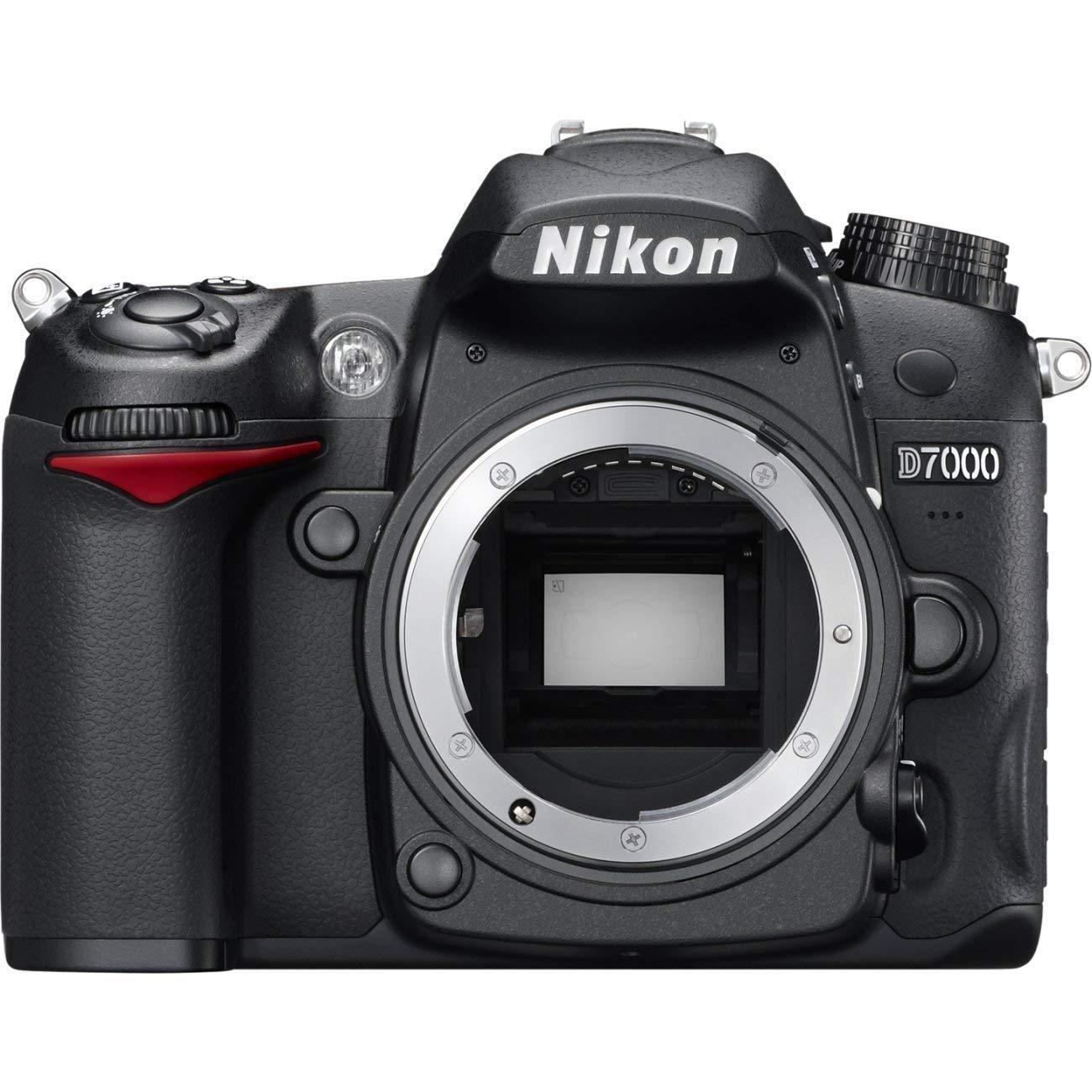 """Nikon D7000 - Cámara réflex digital de 16.2 Mp (pantalla 3""""), color negro - sólo cuerpo [importado] (Reacondicionado Certificado)"""