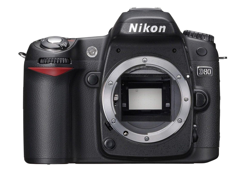 Nikon D80 - Cámara Réflex Digital 10.2 MP (Cuerpo) (Reacondicionado Certificado)