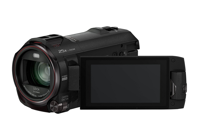 "Panasonic HC-WX979EG-K - Videocámara (Pantalla de 3"", Zoom óptico 20x, estabilizador híbrido), Negro (Importado)"