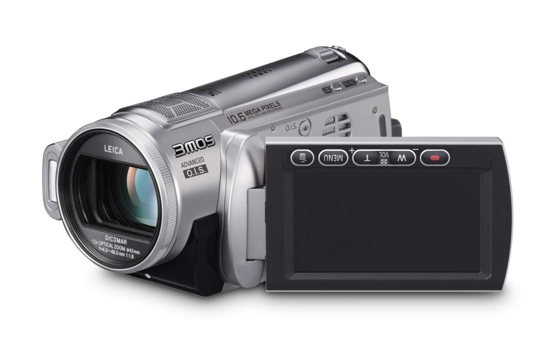 "Panasonic HDC-SD200 Full HD SD/SDHC Camcorder, Silver - Videocámara (Silver, MOS, 10.6 MP, 1/0.161 mm (1/4.1 ""), 12 x, 700 x, 4 - 48 mm) Plata"