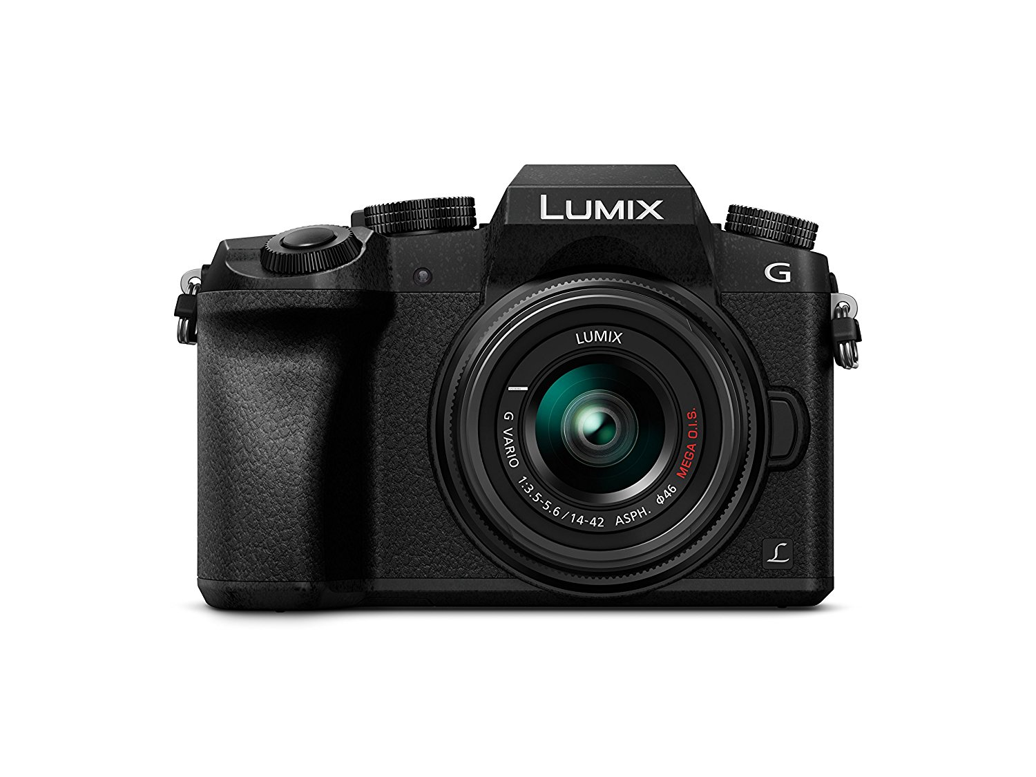 Panasonic Lumix DMC-G7 - Kit Cámara Digital DE 16 MP y Objetivo Standard Zoom LUMIX G Vario 14-42 mm, Color Negro