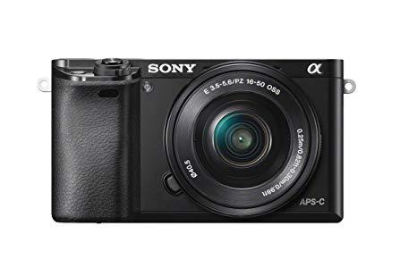 """Sony A6000 - Cámara EVIL de 24 MP (pantalla de 3"""", estabilizador óptico, vídeo Full HD, WiFi), negro - Kit cuerpo con objetivo 16-50 mm"""
