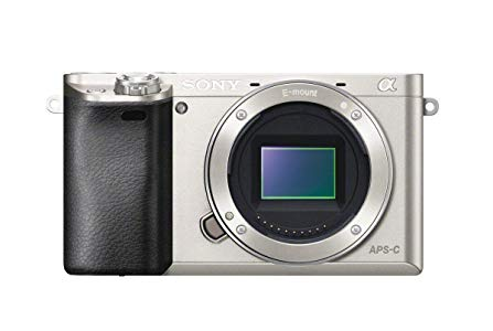 "Sony A6000 - Cámara EVIL de 24 Mp (pantalla LCD 3"", vídeo Full HD, WiFi, NFC), plateado - Solo cuerpo"