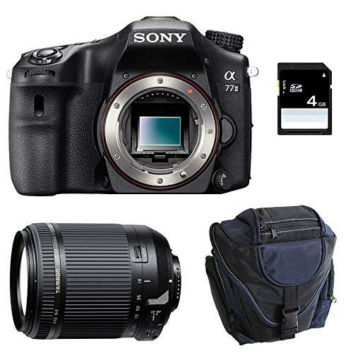SONY ALPHA 77 II + TAMRON 18-200 + Sac + Carte SD 4Go