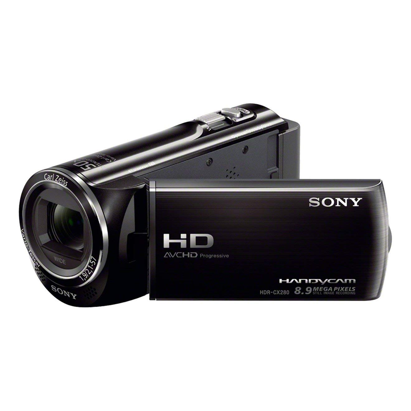 "Sony HDRCX280EB - Videocámara de 8.9 Mp (pantalla de 2.7"", zoom óptico 27 x), negro"