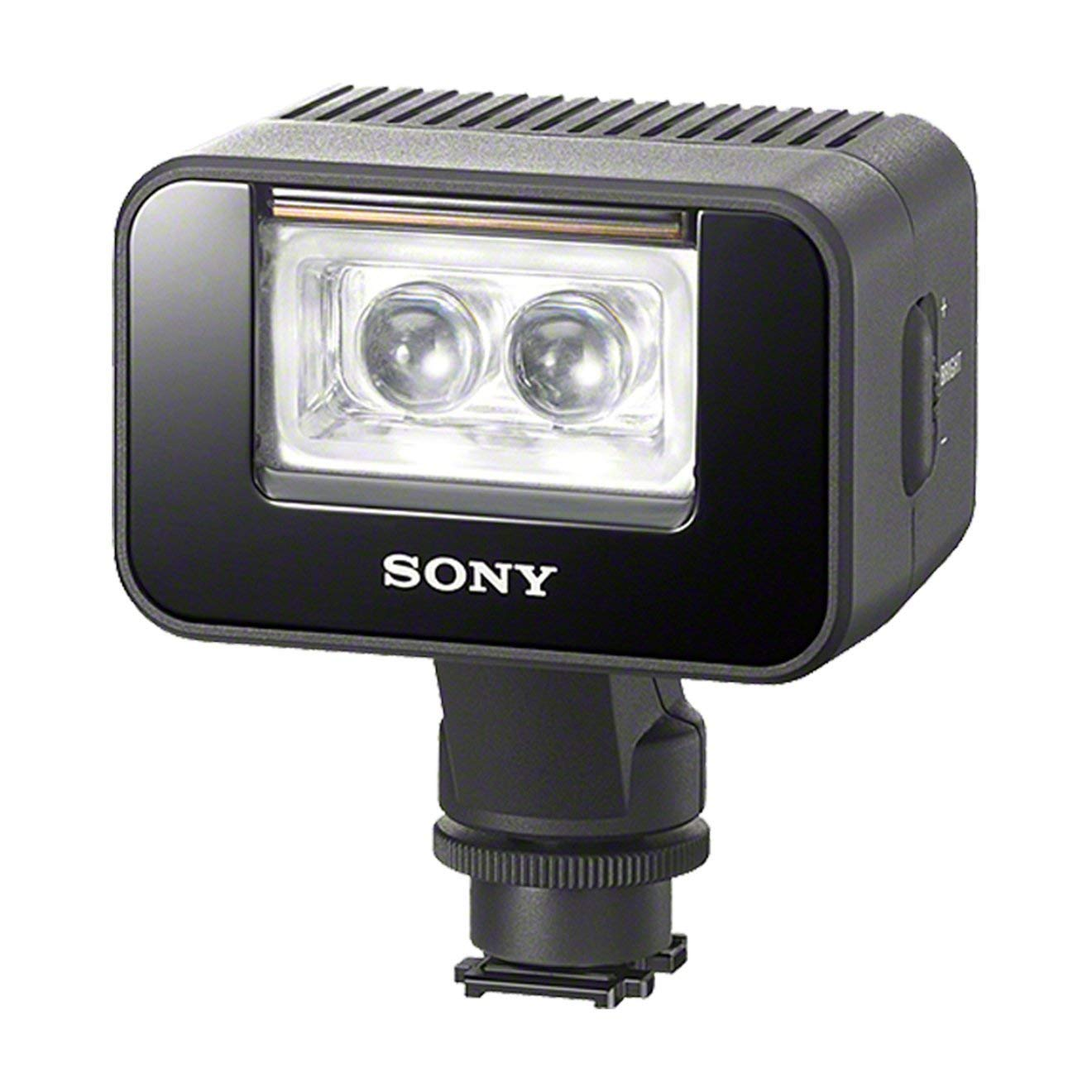 Sony HVL-LEIR1 - Sistema de iluminación continua para fotografía (LED, 1500 lux), color negro