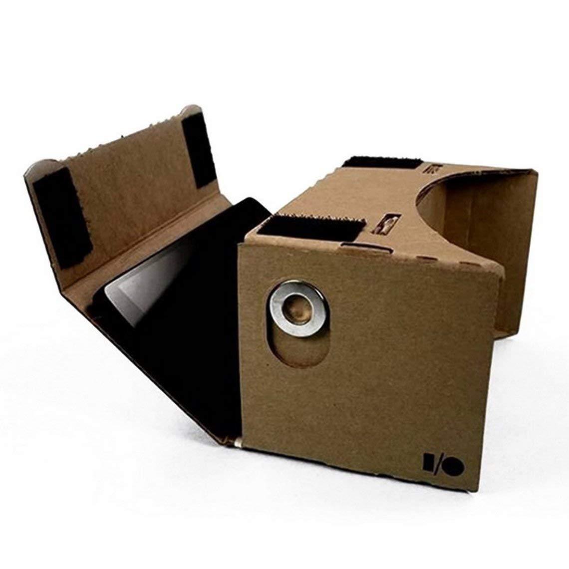 Ulter Clear DIY Cardboard 3D VR Gafas de Realidad Virtual para teléfonos Inteligentes