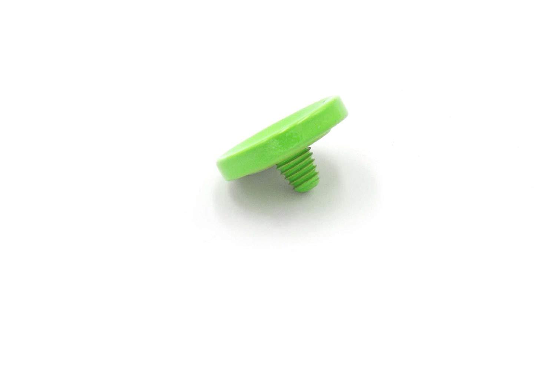 vhbw Botón de Liberación ergonómico Verde para Cámaras Nikon F4, F80, F80D, FM3A, FM10, FE10, F3, FM2, D100
