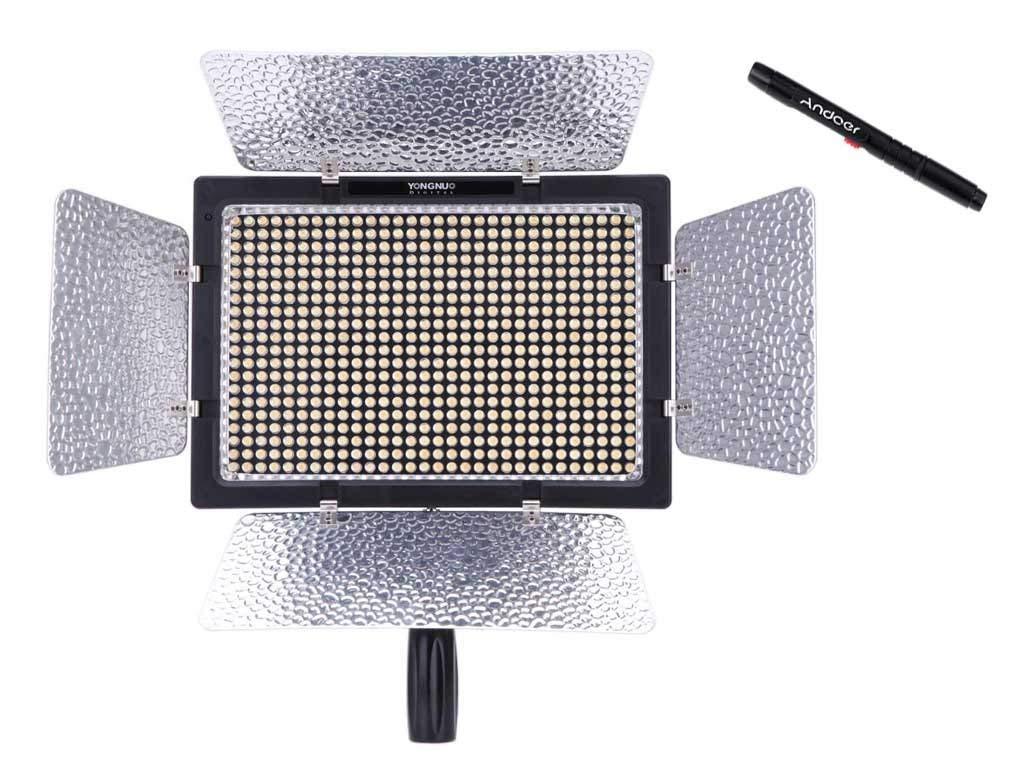 Yongnuo YN-600L - Lámpara con luz LED de estudio fotográfico