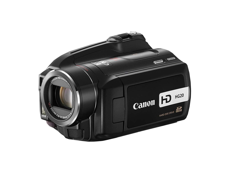 "Canon HG20 3.31MP CMOS Negro - Videocámara (3,31 MP, CMOS, 25,4/3,2 mm (1/3.2""), 12x, 200x, 4,8-57,6 mm)"