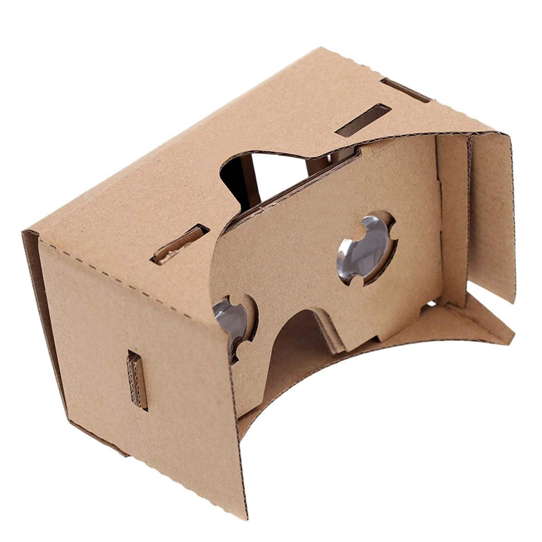 MMRM Nuevo Trend Cardboard 3D Vr Reality Real Google gafas Cartón para Mobile 3.5 - 6.0 Pantalla