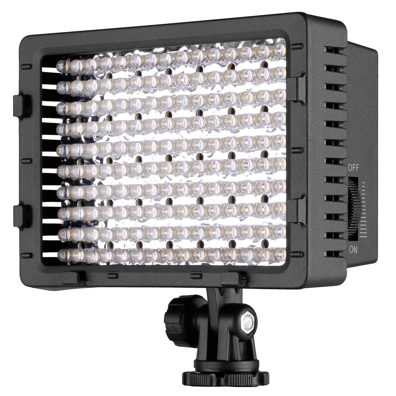 NEEWER CN-216 216pcs LED Dimmable panel ultra alta potencia de la cámara digital/cámara de vídeo, luz LED para Canon, Nikon, Pentax, Panasonic, Sony, Samsung y Olympus Digital SLR Cámaras