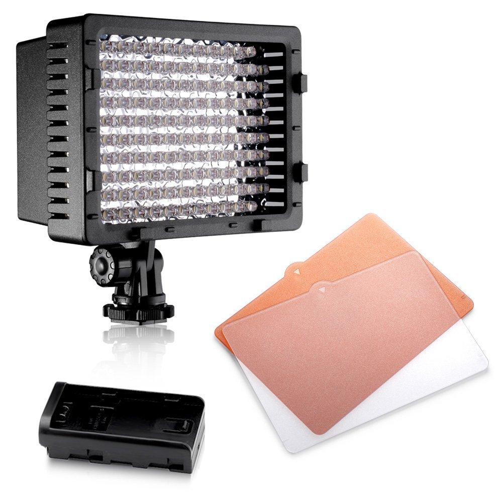Neewer - Led CN-126 Ultra alta potencia 126 LED Cámara Digital / Videocámara luz