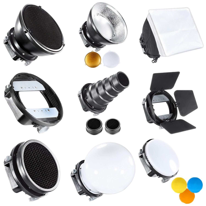 Neewer Pro SGA-K9, Kit de accesorios Speedlite Flash