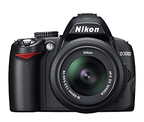 Nikon D3000 - Cámara Réflex Digital 10.2 MP (Cuerpo) (Reacondicionado Certificado)