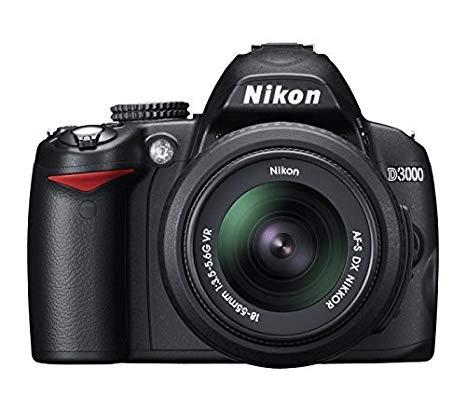 Nikon D3000 - Cámara Réflex Digital 10.2 MP (Cuerpo) (Reacondicionado Certificado)