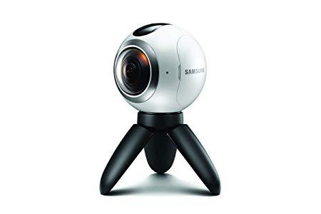 Samsung Gear 360 Full HD - Cámara Deportiva (3840 x 1920 Pixeles, 2560 x 1440 Pixeles, H.265, MP4, 1440p, Full HD, CMOS)