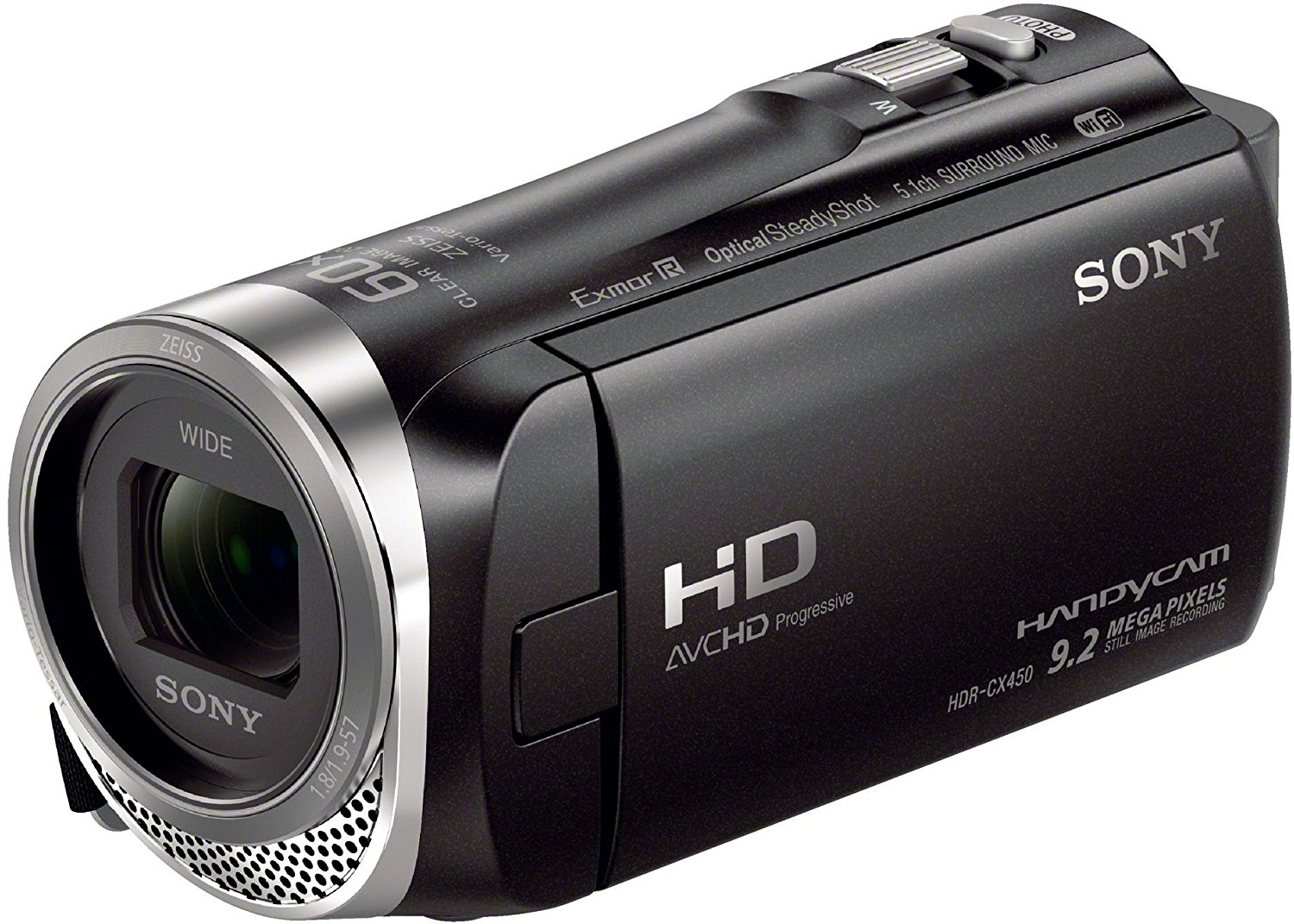 "Sony HDR-CX450 - Videocámara (2,29 MP, CMOS, 25,4/5,8 mm (1/5.8""), 2,29 MP, 2,29 MP, 30x)"