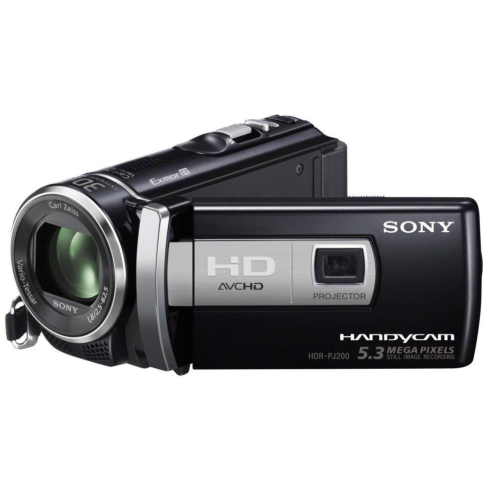 Sony HDRPJ200EB - Videocámara HD Flash (pantalla de 2.7 pulgadas), con proyector incorporado