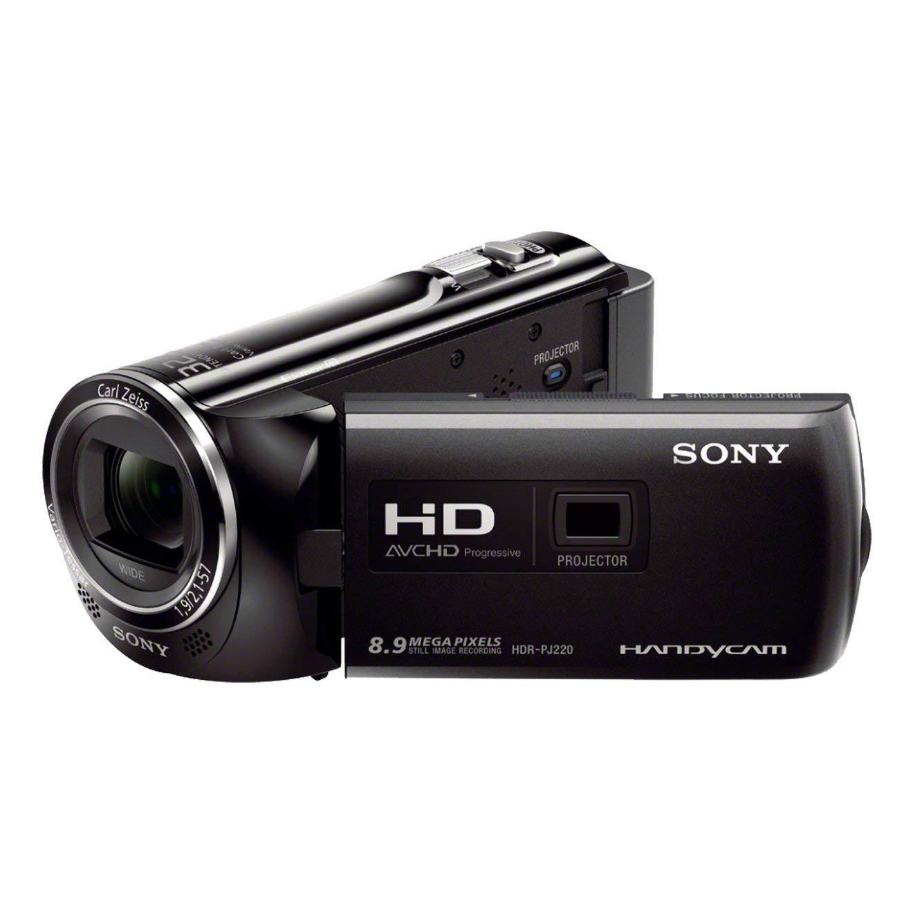 """Sony HDRPJ220EB - Videocámara de 8.9 Mp (pantalla de 2.7"""", zoom óptico 27 x), negro"""