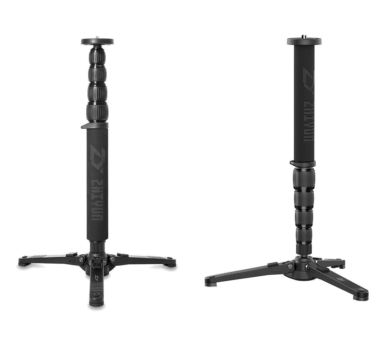 ZHIYUN Palo de selfie telescópico para disparar monopié desmontable diseño de soporte con base de conjunto incluye Tripod Stand for CRANE 2, CRANE PLUS, CRANE V2, CRANE M, DSLR Canon Nikon Sony Camera