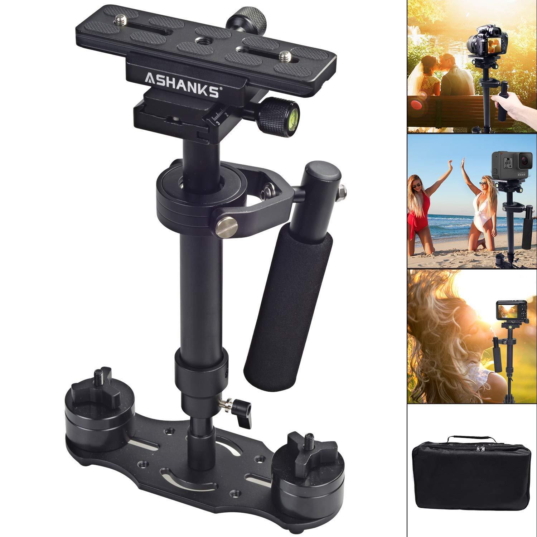 ASHANKS S40 15.8 '/ 40CM estabilizador portátil de la cámara Steadycam para DSLR Steadicam Canon Nikon GoPro AEE Video