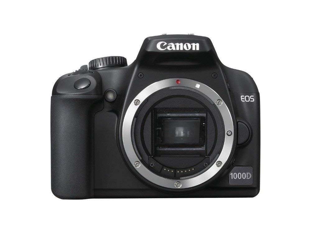 Canon EOS 1000D - Cámara Réflex Digital 10.1 MP (Cuerpo) (Reacondicionado Certificado)