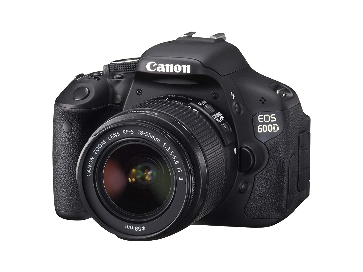 Canon EOS 600D - Cámara Réflex Digital 18.7 MP (Objetivo EF-S 18-55mm) (Reacondicionado Certificado)