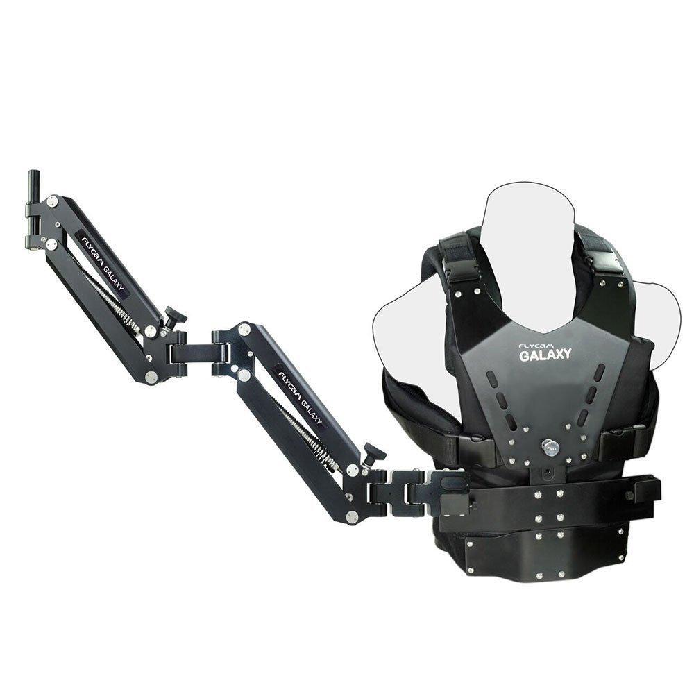 Flycam Galaxy doble brazo y cuerpo chaleco de Steadycam para Handheld Estabilizador para cámara de vídeo videocámara hasta 10kg/22lbs (glxy-av)