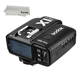 Godox x1t-f TTL Luz Estroboscópica disparador inalámbrico 1/8000s HSS 32Canales 2.4G LCD Disparador de flash transmisor para Fuji Fujifilm Cámaras