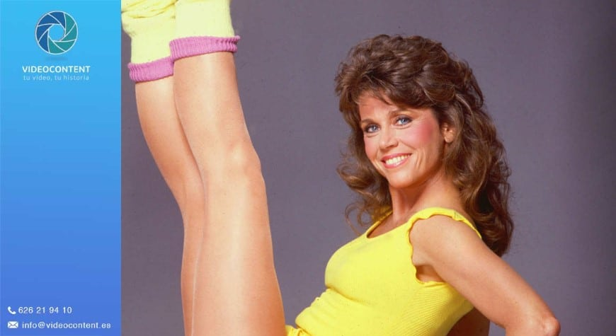 Jane Fonda Vídeos de gimnasia