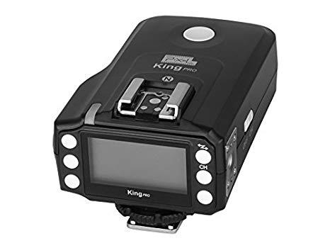 Pixel KING PRO transceptor Radio disparador de flash TTL HSS 1/8000s LED Protector de pantalla para cámaras Canon flash Speedlite