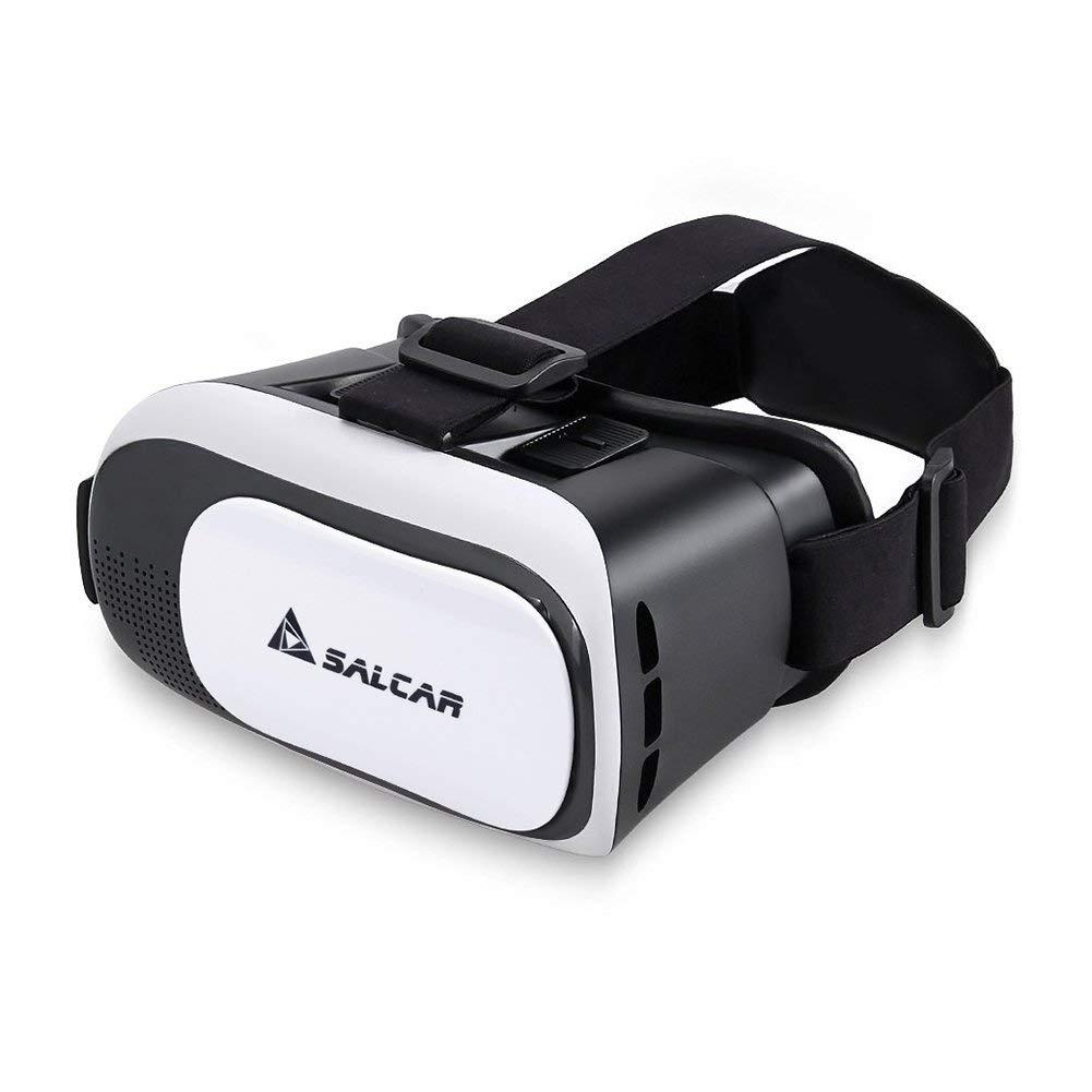 Salcar 3D Realidad Virtual (VR) Gafas para 4,5–5,7Pulgadas Smartphones, Color Blanco