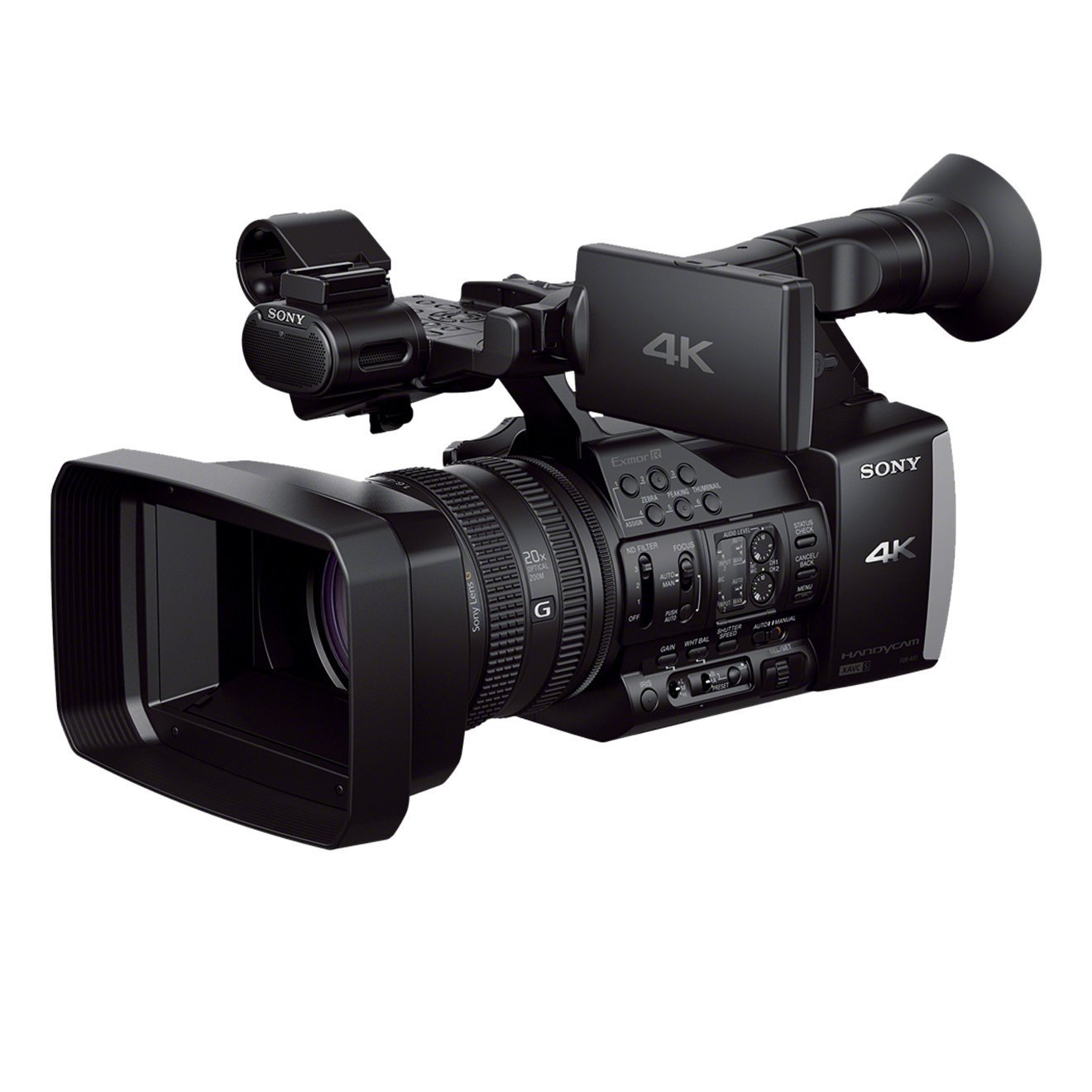 "Sony Handycam FDR-AX1E - Videocámara Full HD 1080p (8.3 Mp, pantalla de 3.5"", zoom óptico 20x, estabilizador óptico, video Full HD), negro"