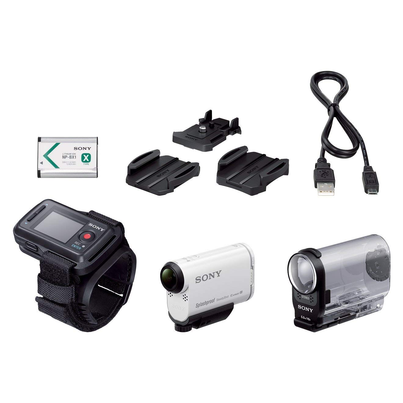 Sony HDRAS200VR.CEN - Cámara de Video, Memoria Flash