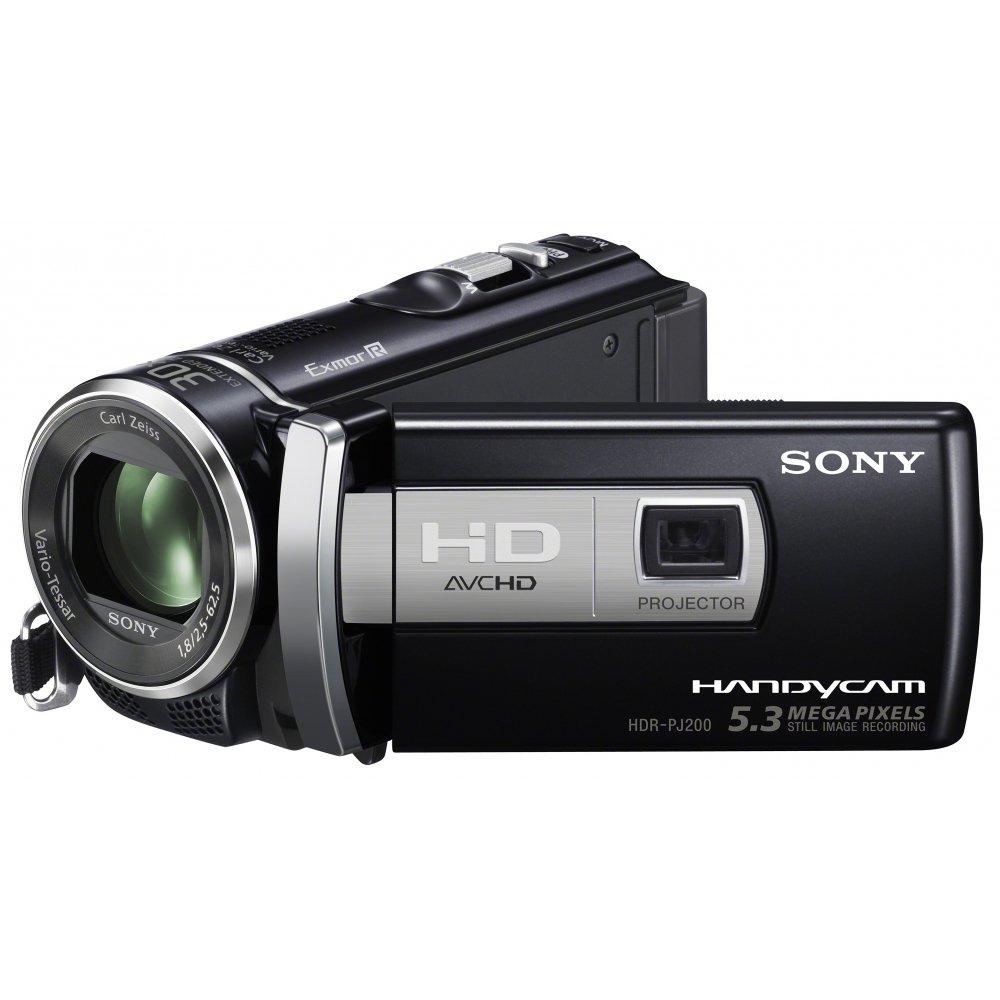 "Sony PJ200E - Videocámara (CMOS, 5,3 MP, 1/0,228 mm (1/5.8""), 25x, 300x, 2,5-62,5 mm) Negro"