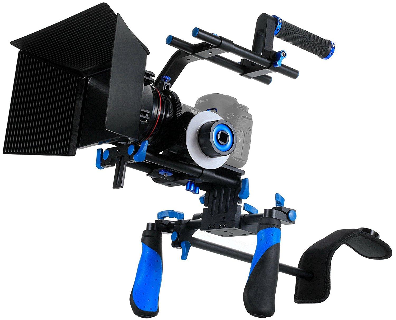 SunSmart Rig DSLR Kit Soporte estabilizador de Hombro para Cámara Y Videocámara