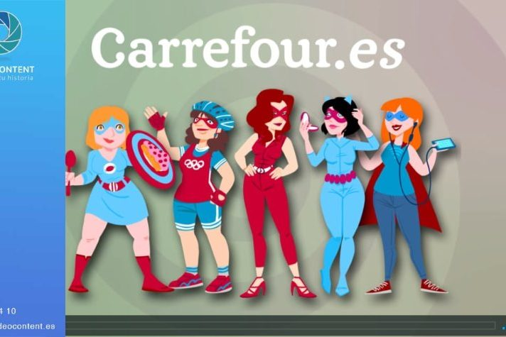 Vídeo promocional Día de la Madre para Carrefour
