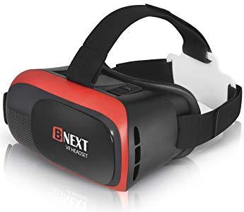 Gafas VR para iPhone y Android, Gafas Realidad Virtual para Movil - Disfruta de los Mejores Juegos y Videos RV, 360 y 3D, de Máxima Calidad y con la Mayor Comodidad