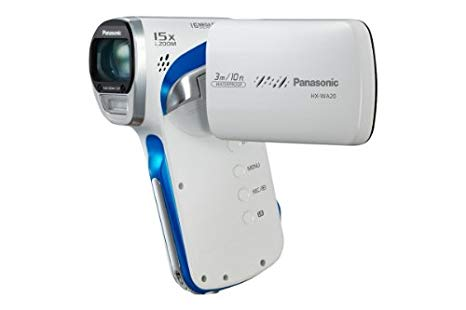 "Panasonic HX-WA20 - Videocámara (MOS, 16.4 MP, 1/0.0917 mm (1/2.33 ""), 5 x, 120 x, 4 - 20 mm) Color blanco"