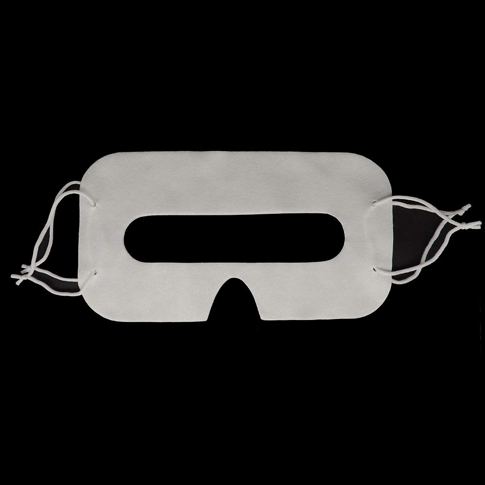 100 Uds. Máscara Facial de Ojos Higiénica - Desechable, para Gafas HTC Vive/HTC Vive Pro Headset PS4 VR Playstation Oculus Rift Google cartón - Universal Virtual Reality