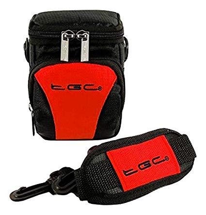 Diseño de la TGC de color rojo de color negro y camiseta de manga corta para-a los golpes para la cámara del diseño de ion de litio para Polaroid z2300