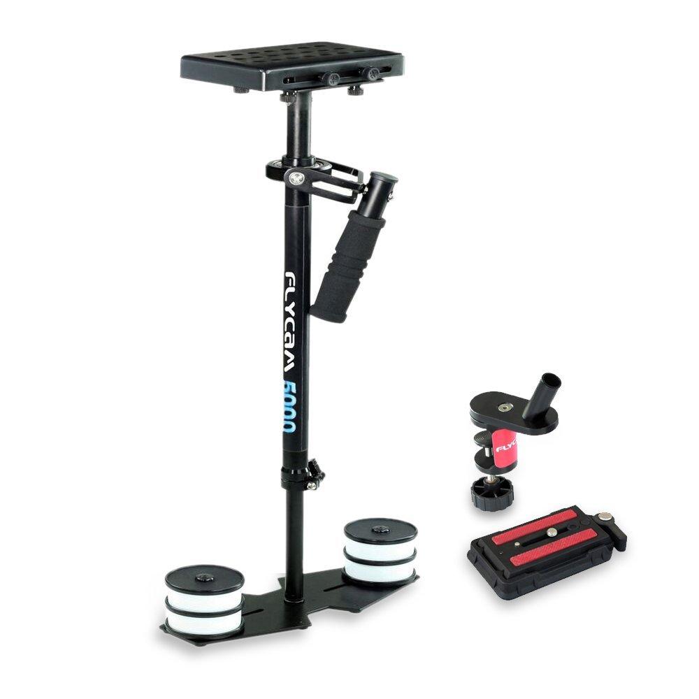 Flycam 5000estabilizador de vídeo con placa de liberación rápida Compatible con cámaras con un peso de hasta 5kg/kg–libre pinza para mesa (flcm-5000-q)