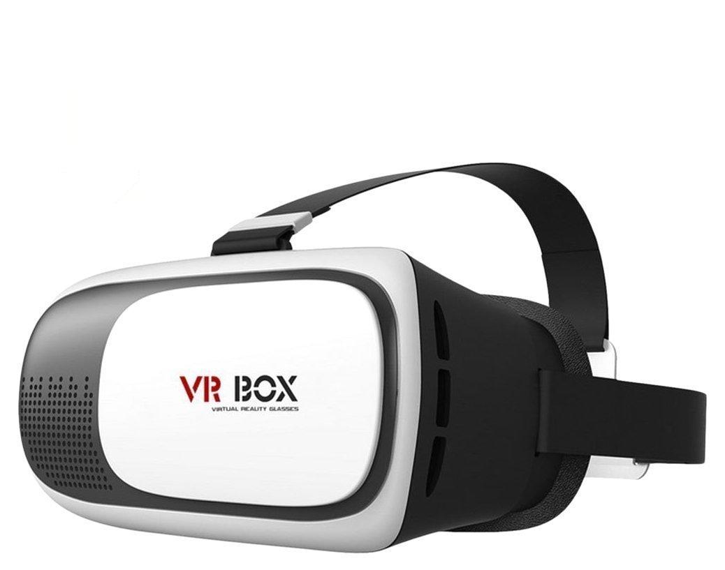 fuleadture 3d películas juegos de vídeo VR Gafas 3d de realidad virtual auriculares VR Cartón ajustar para iphone 7plus Samsung Galaxy S6S7edge y otros 3,5–6,0pulgadas Smartphones