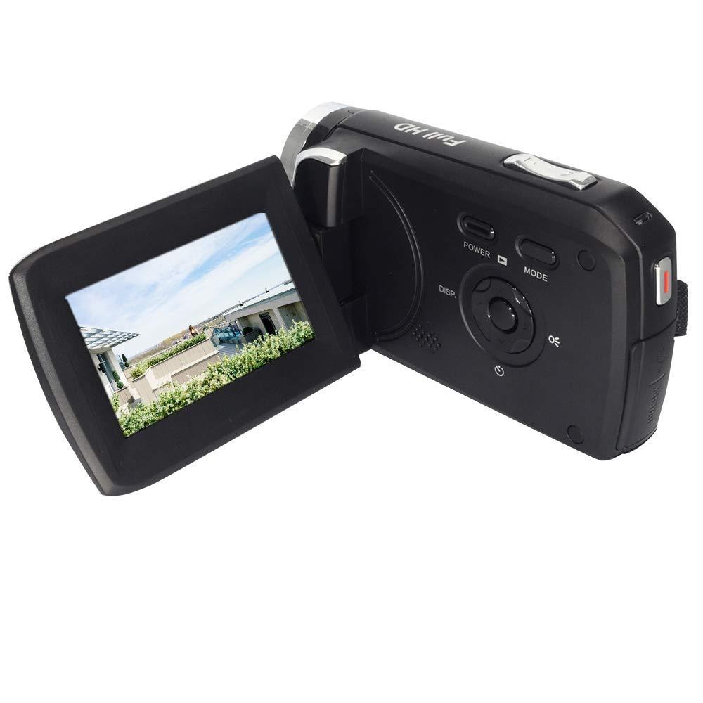 """GDV5250 Cámara de Video Digital 1080P Full HD DV Videocámara con batería Recargable/Pantalla LCD TFT de 2,7""""/ 270 Grados de rotación para niños/Principiantes / Ancianos"""