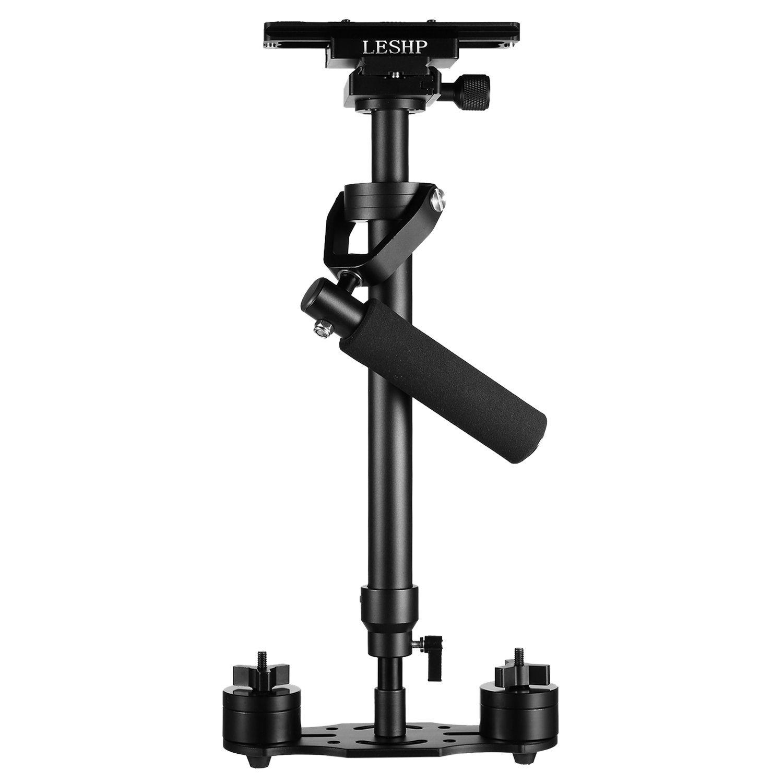 Handheld Estabilizador de la cámara, portátil S-60Max Hight 0,6Handheld Estabilizador Pro versión para cámara de vídeo DV cámara réflex digital–peso rodamientos capacidad 0,2–3,5kg (7libras)